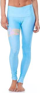 product image for Teeki Women's Leggings or Hot Pants, Rainbow Priestess Blue Pattern