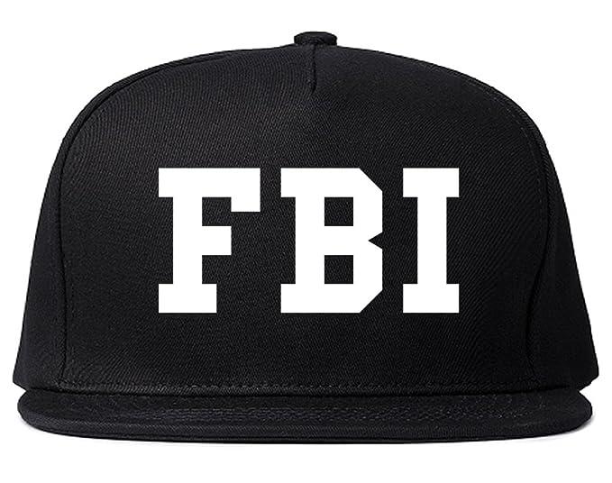 FBI Law Enforcement Mens Snapback Hat Cap Black at Amazon Men s ... fcd5d0a8268
