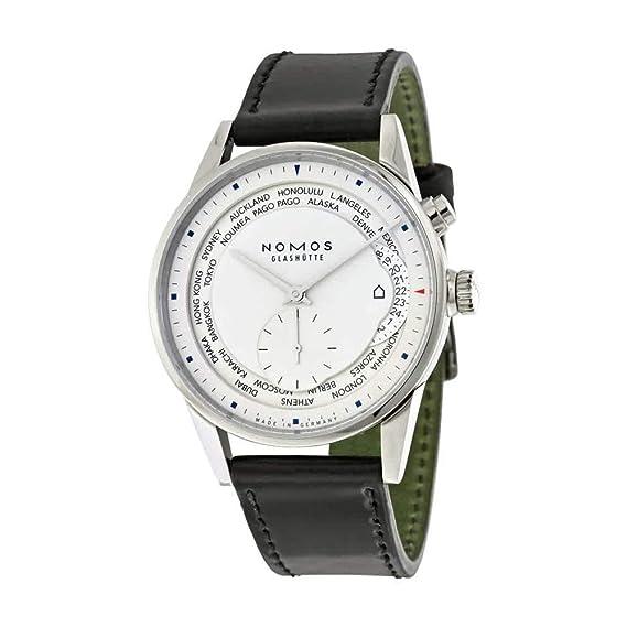 Nomos Zurich Weltzeit 805 - Reloj de Pulsera para Hombre ...