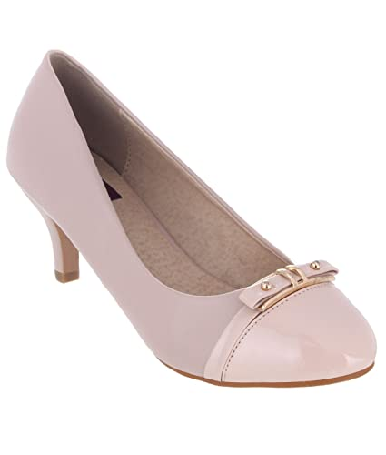 SHUZ TOUCH NUDE BELLY SHOES (SIZE-36)
