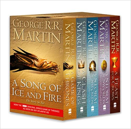 A Game of Thrones: The Story Continues: A Song of Ice and Fire: Volumes 1-4 (A Game of Thrones / A Clash of Kings / A Storm of Swords: Steel and Snow ... Swords: Blood and Gold / A Feast for Crows)