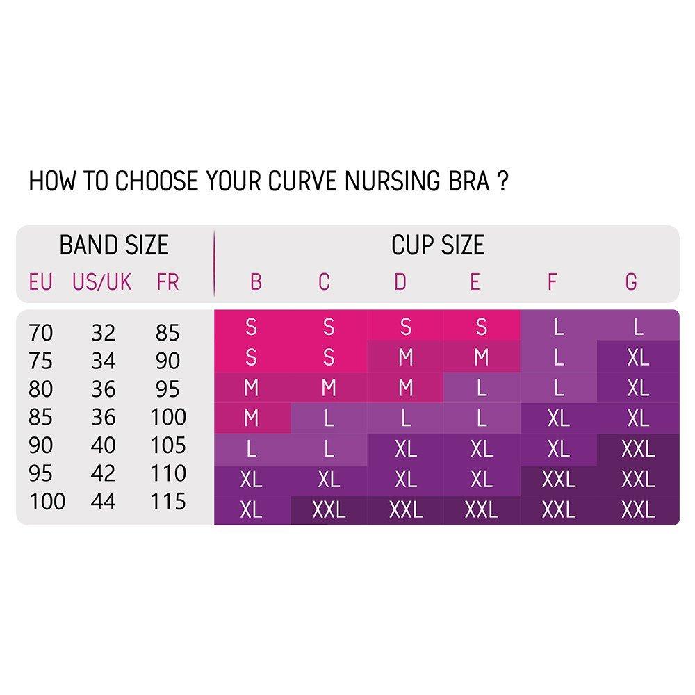 1 Nursing Bra Cache Coeur Starter Kit 1 Pair of DAY Nursing Pads 1 Washing Bag Extra Large Nude 1 Pair of NIGHT Nursing Pads 1 Curve Carry Case