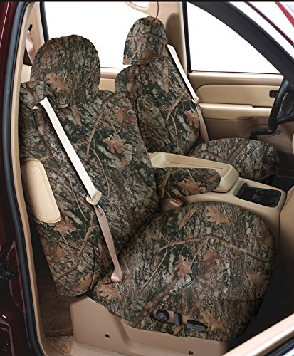 UPC 086086480240, Covercraft SeatSaver Front Row Custom Fit Seat Cover for Select Nissan Frontier/Nissan Xterra Models -  True Timber Polyester (Conceal Brown)
