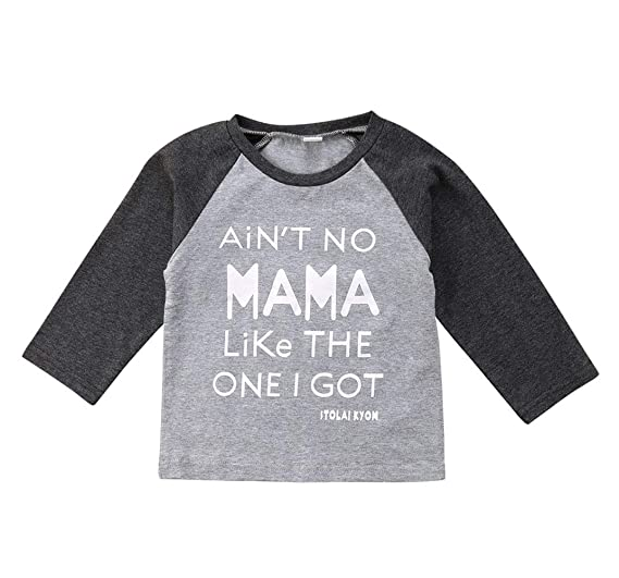 26c09d2cc416 Amazon.com  Toddler Baby Boys Girls Causal Long Sleeve T Shirts Tops ...