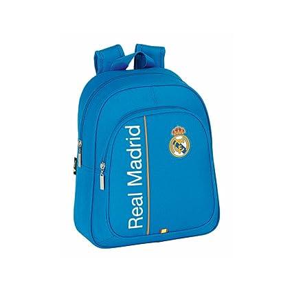 Amazon.com: Real Madrid – Mochila para niños azul: Sports ...
