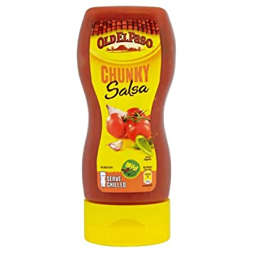 Old El Paso Squeezy Chunky Salsa (295g) - Pack of 6