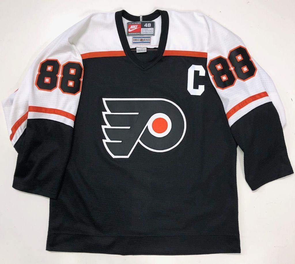 quality design 248ef ceb8e Eric Lindros Philadelphia Flyers Authentic Nike Black Jersey ...