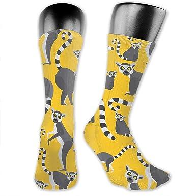 Amazon.com: Lemurs Of Madagascar Crazy Crew Calcetines de ...
