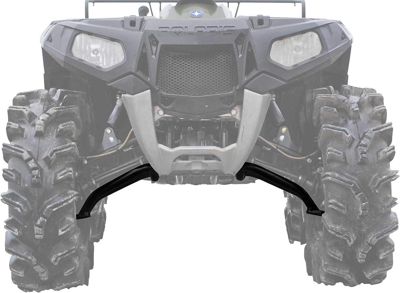 Black SuperATV High Clearance Lower A Arms for Polaris Scrambler 850//1000 2013+