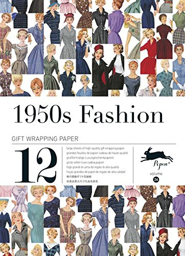 1950s Fashion : Gift and creative paper paper book Vol.26 (Gift Wrapping Paper Book) (Press Pepin)