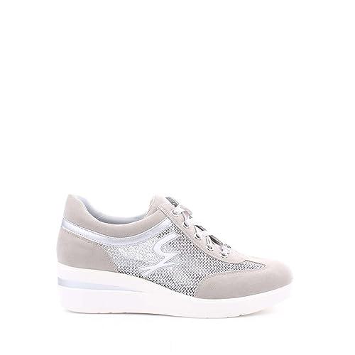 Gattinoni - Zapatillas para mujer plateado plateado plateado Size: 36: Amazon.es: Zapatos y complementos