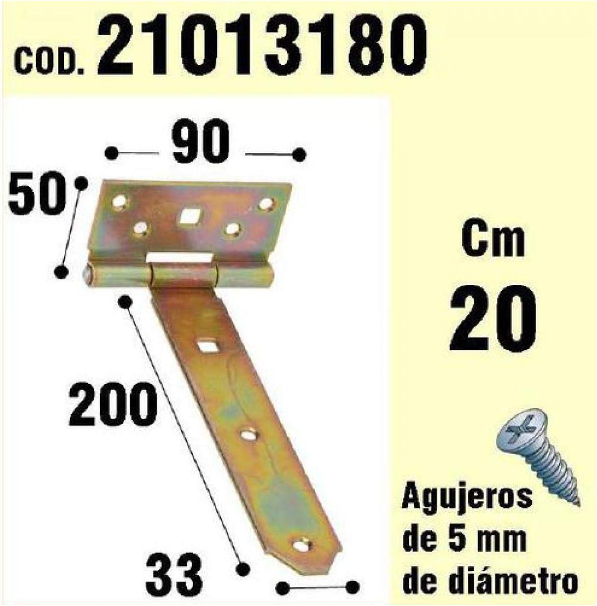 cerniera bicromato 200 mm WOLFPACK 21013180-Supporto per legno