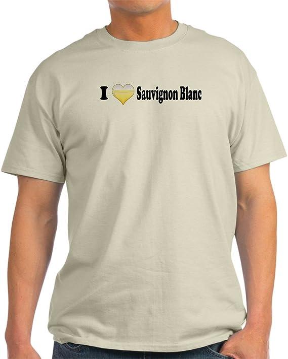 CafePress I Love Sauvignon Blanc Light Cotton T-Shirt