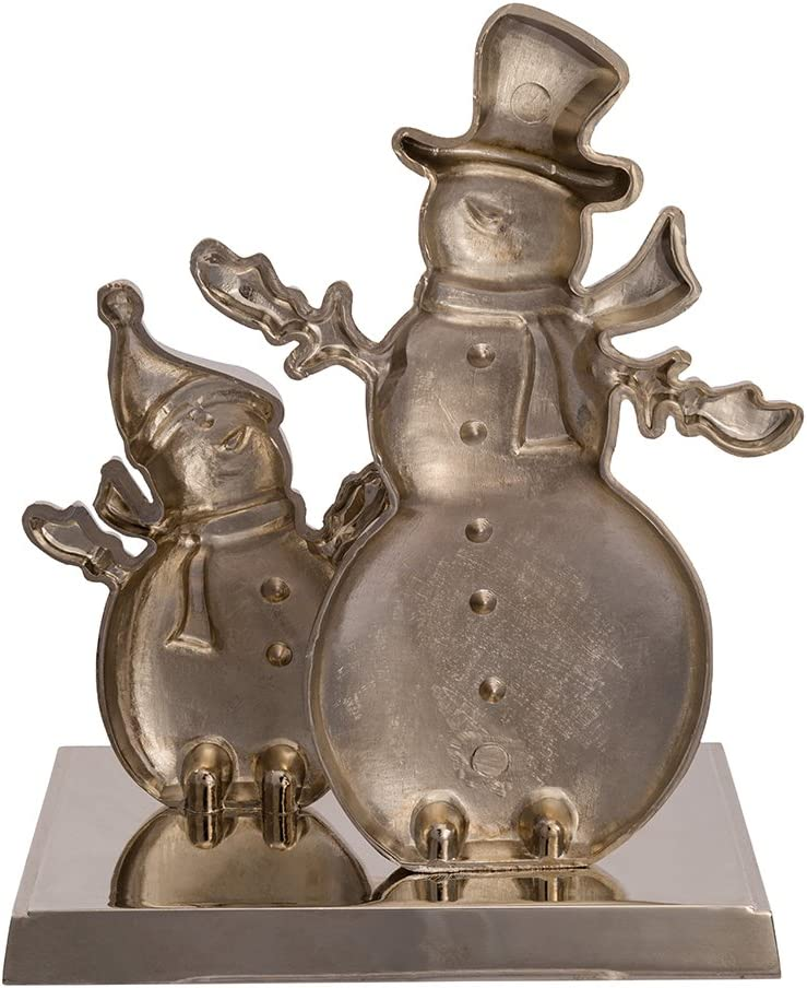 Kurt Adler Metal Snowman Stocking Holder 7.25-Inch
