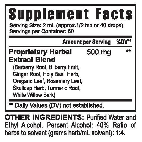 Antioxidant Response 4 fl oz, - 4 Bottles