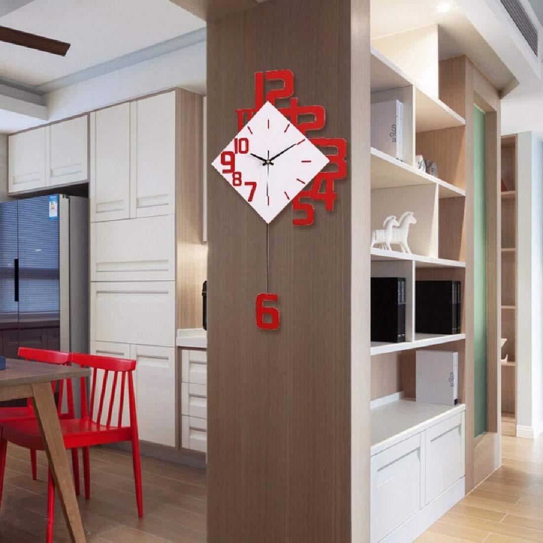 ZPSPZ Wanduhren Einfache Wohnzimmer Uhr Europäischer Art Wohnzimmer ...