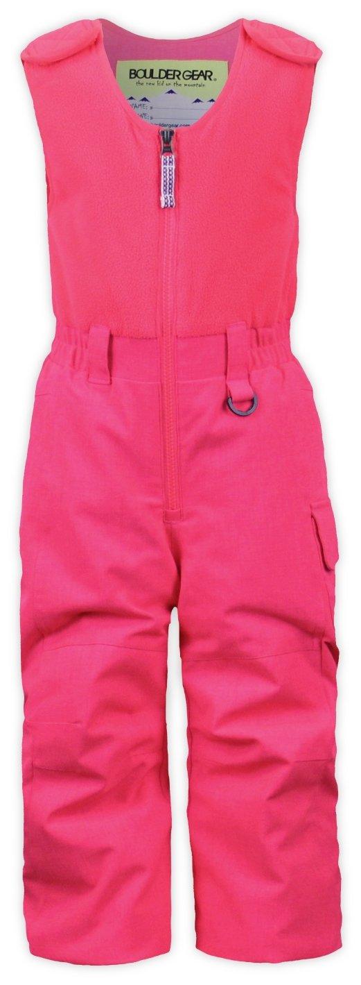 Boulder Gear 9125R Kid Girls Baily Bib, Pink Diva - 3T