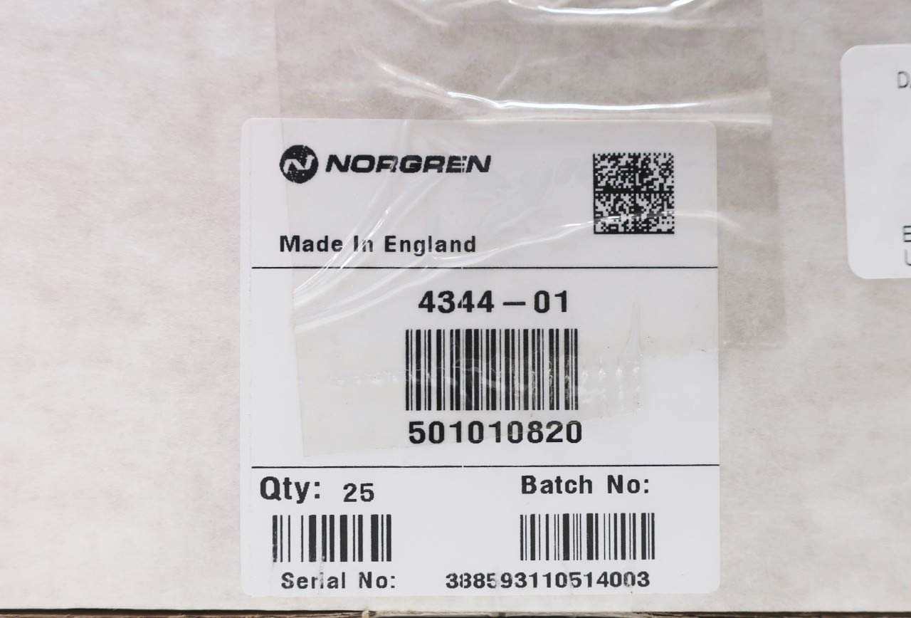 Box of 25 NORGREN 4344-01 for Unit F74C Pneumatic Filter Element