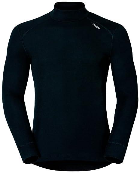 13198b09298908 Odlo - Maglia Termica da Uomo, Manica Lunga, Collo Alto: Amazon.it:  Abbigliamento