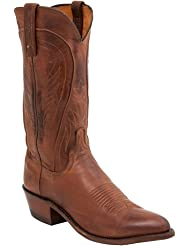 1883 by Lucchese Men's N1596-J4 Cowboy Boots,Tan Burnished Ranch Hand,10 D US