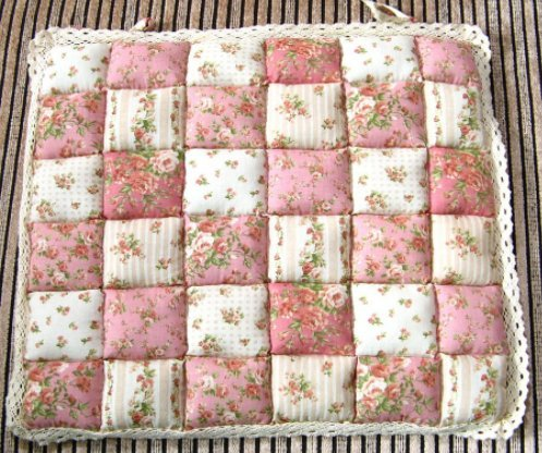 galettes de pièces de cuits à la vapeur Pain Dentelle Garden Style galettes de chaise de cuisine pour maison Bureau