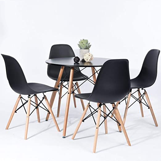 Joolihome Set di Tavolo e sedie da Pranzo Diningroom in