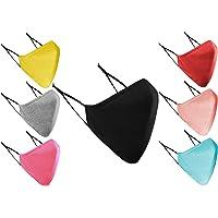 Gezichtsmaskers wasbaar UK 3-laags katoenen gezichtsmasker wasbaar herbruikbaar ademend doekmateriaal voor dames en…
