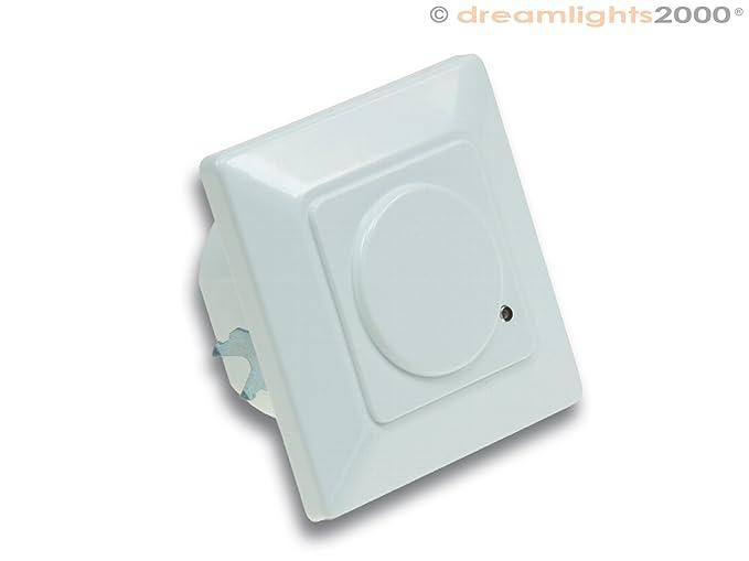 Detector de movimiento, 160 ° | unterputzmontage| Adecuado para LED | Tecnología de alambre