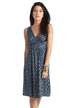 633314cdb49e1 Mothers en Vogue Wrap Sleeveless Maternity & Nursing Dress - XS ...