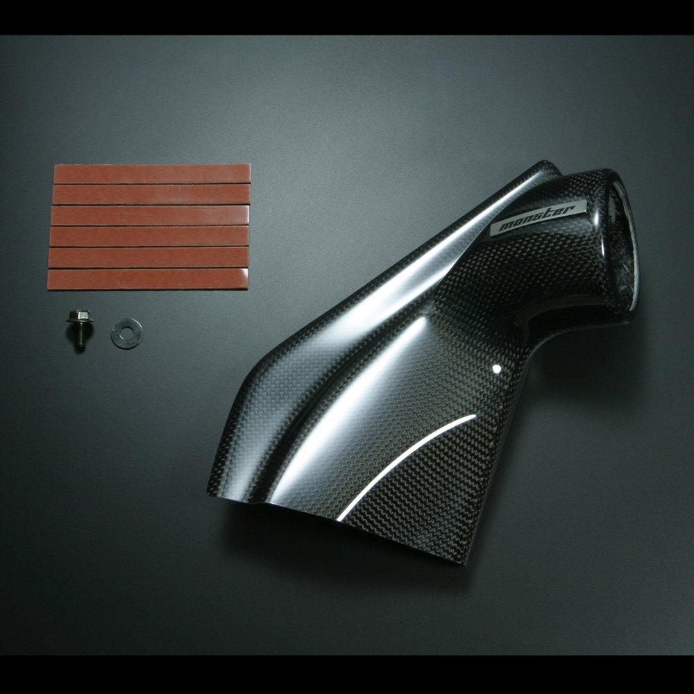 MONSTER SPORT ドアメーターフード シングル φ60 FRP黒ゲルコート仕上げ ジムニー[JB23W/5型~]/ジムニーシエラ[JB43W/4型~]用 851510-5250M B00MHJXQ5I