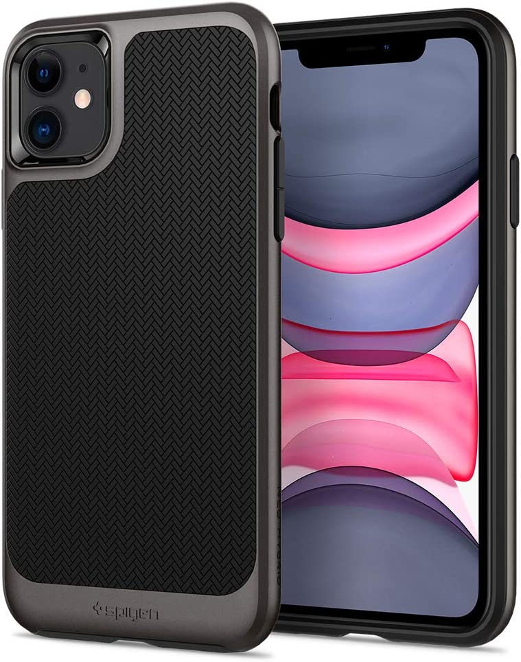 Spigen Neo Hybrid Designed for iPhone 11 Case (2019) - Gunmetal
