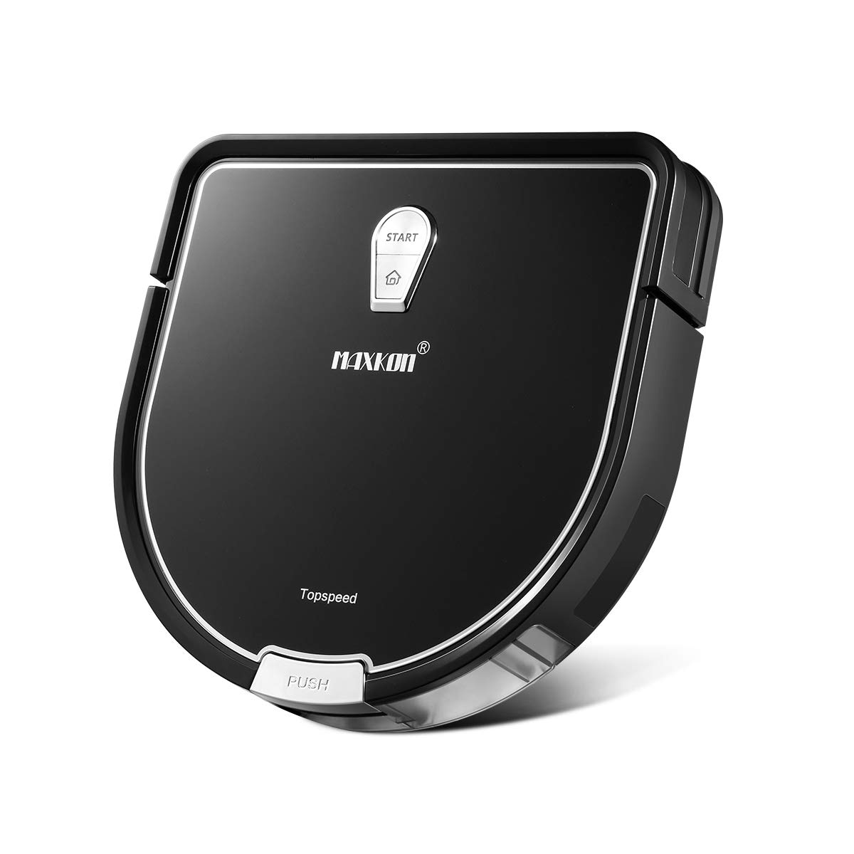 Maxkon Robot Vacuum Cleaner Pro, 2-in-1 Dry & Wet Mopping Automatic Smart Robotic Sweeper, Self-Charging, Scheduling Setting, Edge Cleaning & Cliff Sensor Tec w/Remote by MAXKON