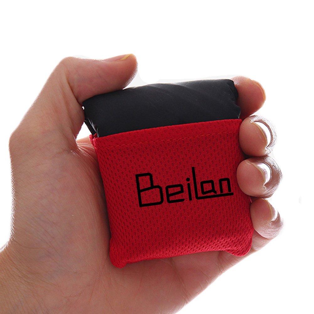 BeiLan Manta mini bolsillo de picnic artículo Ligero arena impermeable a prueba de Playa Colchoneta de viaje con bolsa de portátil para el aire libre Actividades 70*110cm ODS-218
