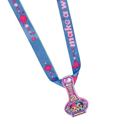 amscan Charm Necklace Favor, Shimmer & Shine Collection, Party Accessory One Size, Multicolor: Toys & Games