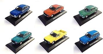 Opo 10 Los Mit 6 Dacia Fahrzeugen 1 43 Sammlung Von Fahrzeugen Aus Osteuropäischen Ländern Ba22 23 26 44 47 48 Spielzeug