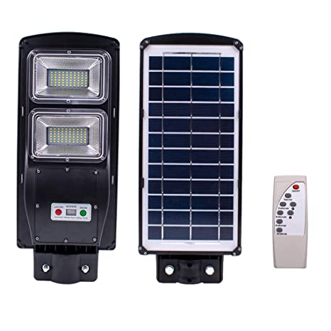 60W 120-LED/90W 180-LED Solar Sensor Outdoor Light with