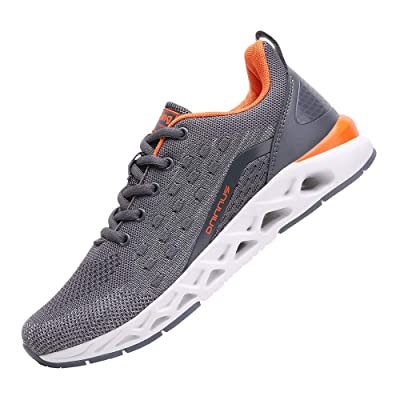 TSIODFO Men Sport Running Shoes mesh Breathable Athletic Walking Jogging Sneakers   Trail Running