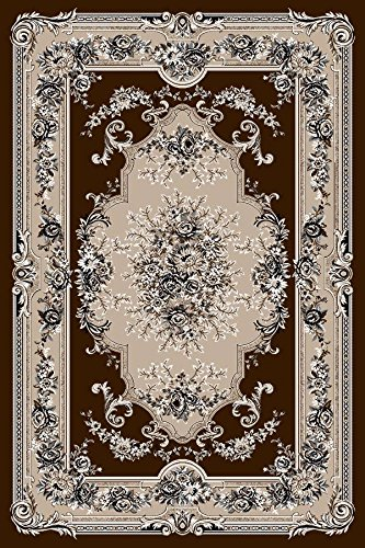 Chocolate Brown Victorian Oriental Carpet product image