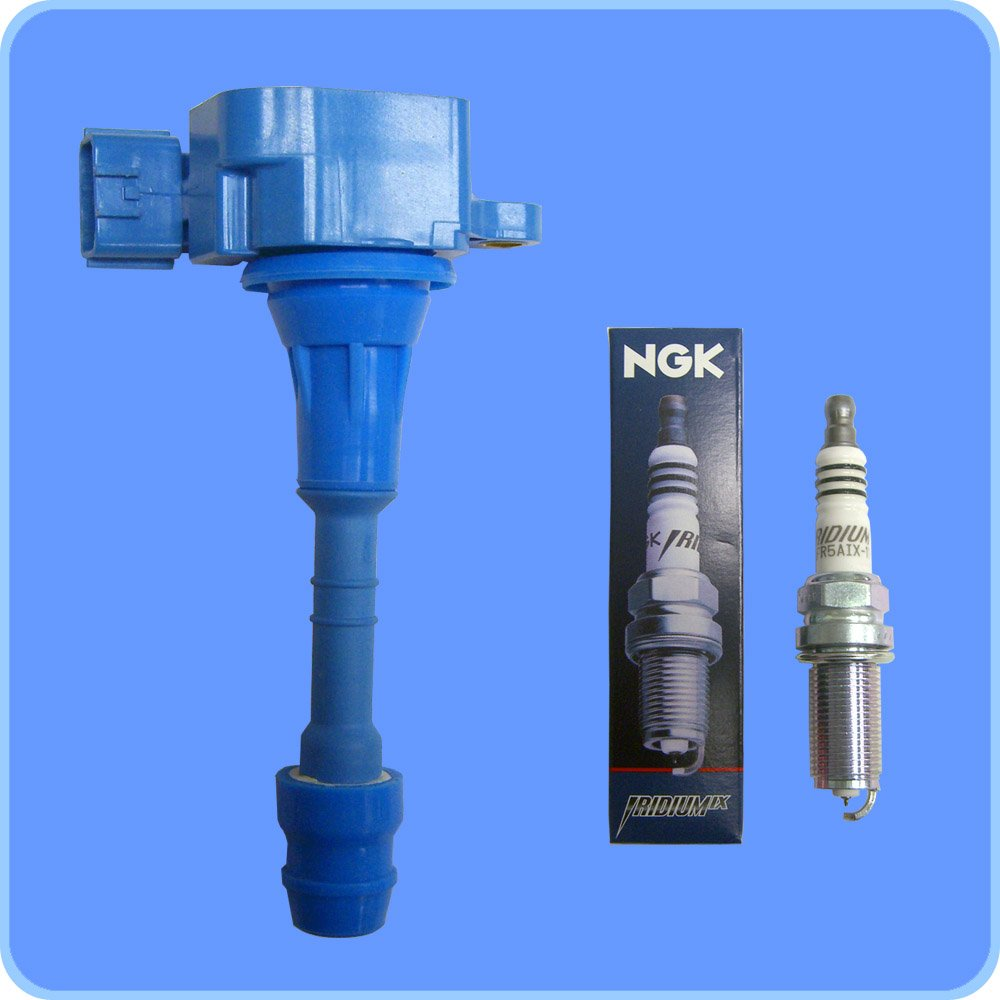 New NGK Iridium IX 5464 Spark Plug + High Performance Ignition Coil 1 1
