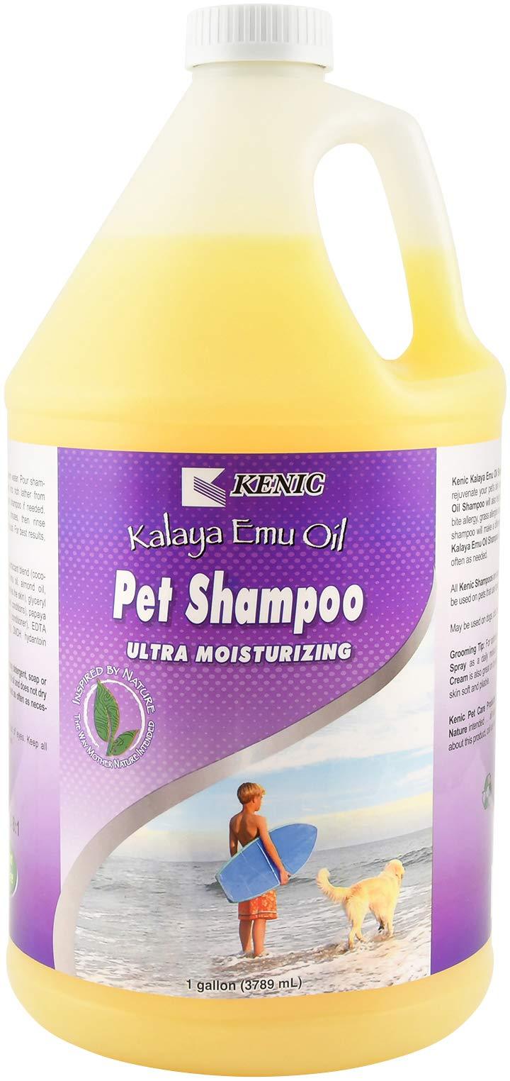 Kenic Kalaya Emu Oil Pet Shampoo, 1-Gallon by Kenic