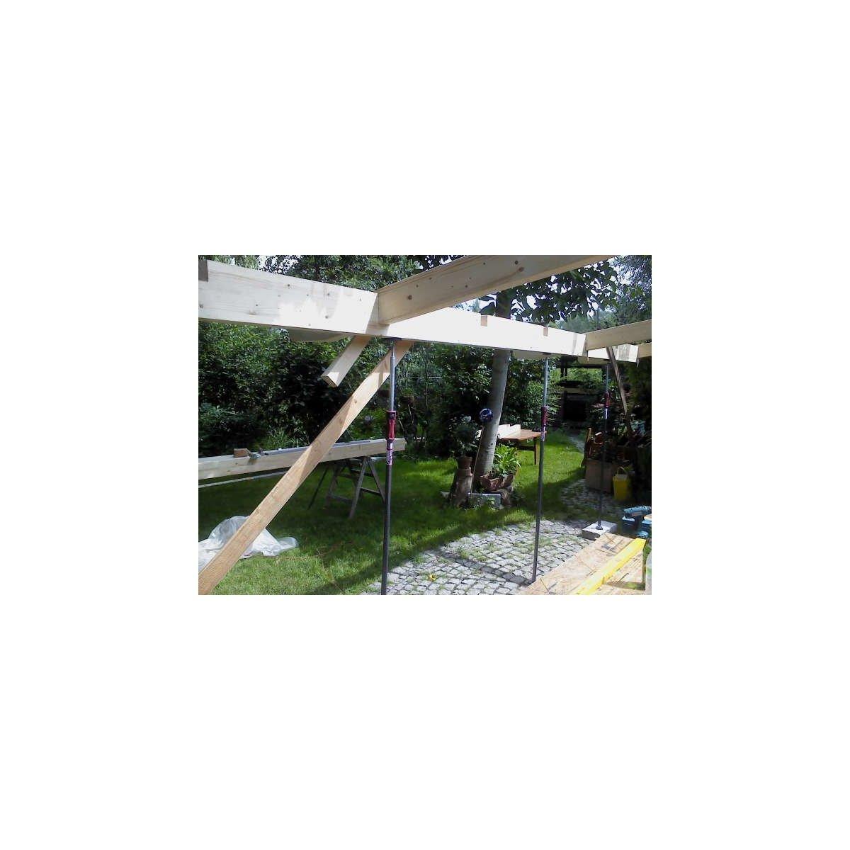 Piher/® 2 x Bau-St/ützen Lasten-Stangen Montage-St/ützen Decken-St/ütze Stange 155 bis 290 cm