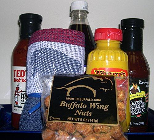 Best of Buffalo Select Gift Basket (Buffalo Mustard)