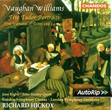 ralph vaughan williams five variants of dives and lazarus