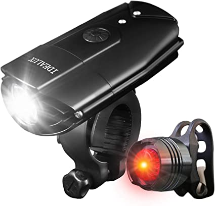 Super Bright MTB Bike Cycling Front Light USB Rechargeable T6 LED Waterproof  EN