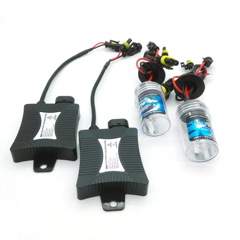 Amazon.com: Heinmo 55W Xenon HID Ballast Bulb KIT Light Car Headlight Fog DRL Lamp H1 H3 H7 H8 H9 H11 880 881 9005 HB3 9006 HB4 6000k (6000K, ...
