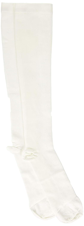 1 Pound Complete Medical Mens Dress Socks White 15-20 mmHg Large