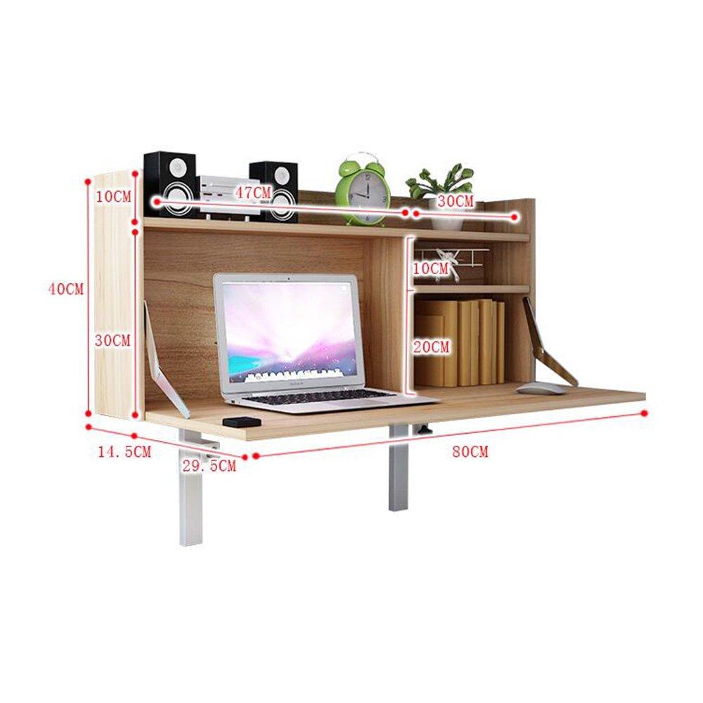 XIAOLIN 大学寮コンピュータデスク調節可能な高さベッド吊り下げられた怠惰なテーブル単純な学習小さなテーブルオプションの色 (色 : ウッド うっど) B07F1QGQ7B ウッド うっど ウッド うっど