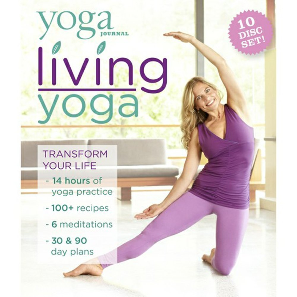 Yoga Journal: Living Yoga Transform Your Life 10 DVD Set by Bayview
