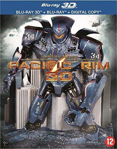 Pacific Rim (3D & 2D) Disc Box Set & Moulded Robot Statue (3D & 2D) (+ Digital Copy) [ Blu-Ray, Reg.A/B/C Import - Netherlands ]
