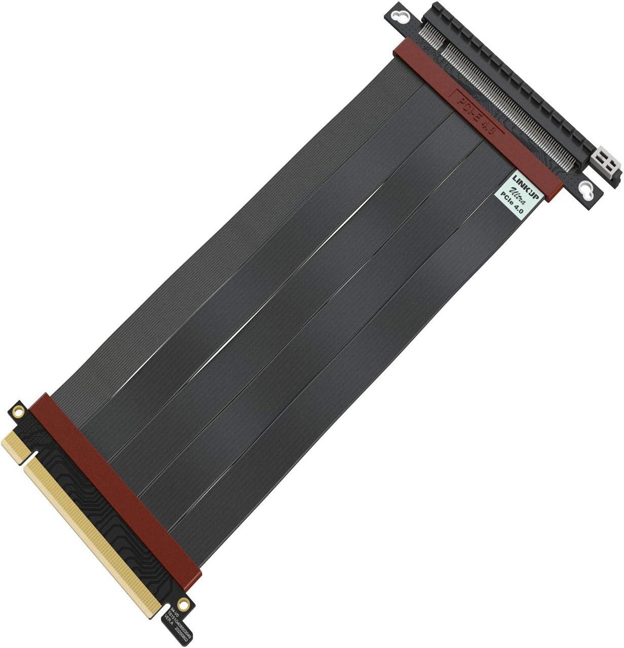 Extension De Cable 200mm LINKUP PCIe 4.0 X16 RTX3090 x570
